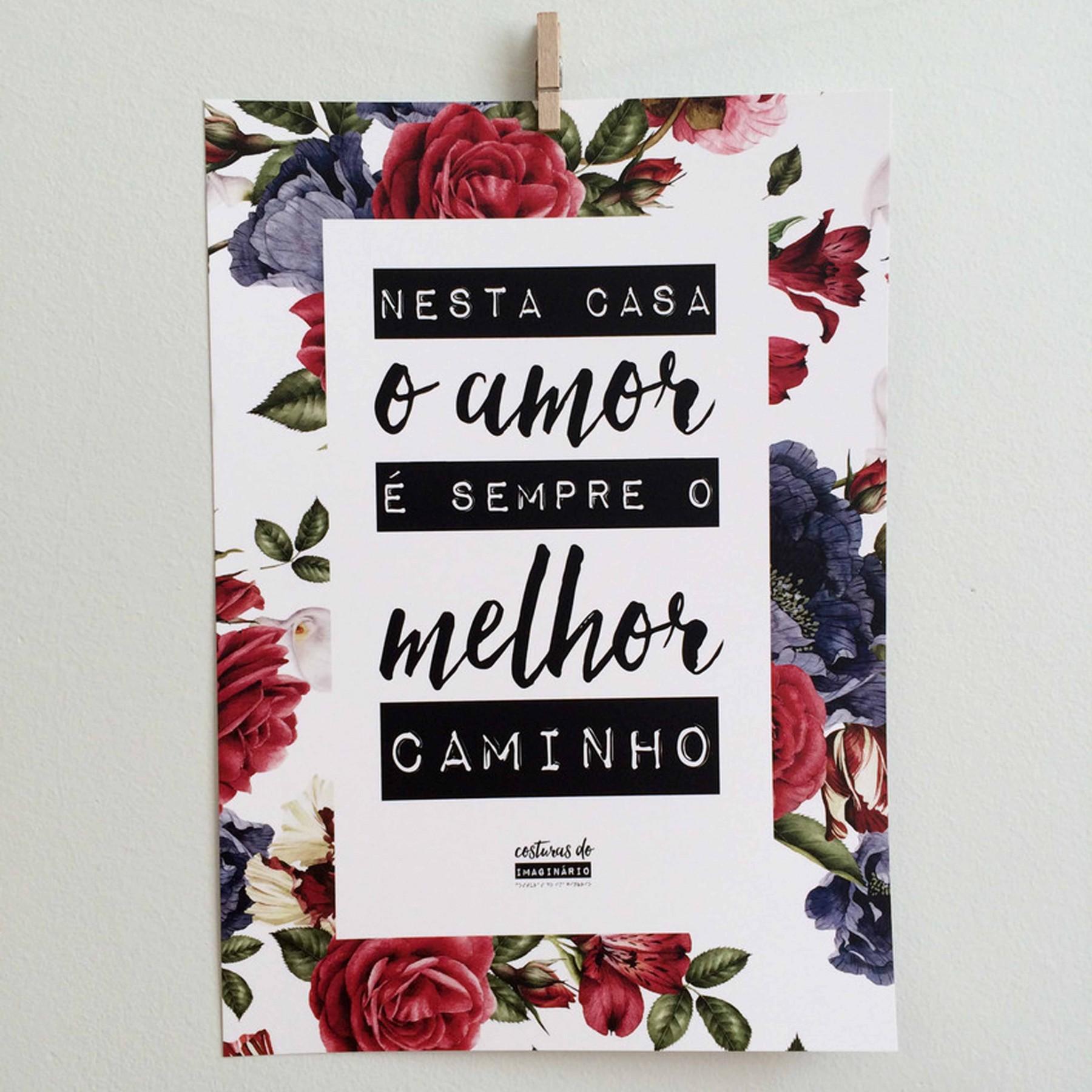 Poster Casa Rosas