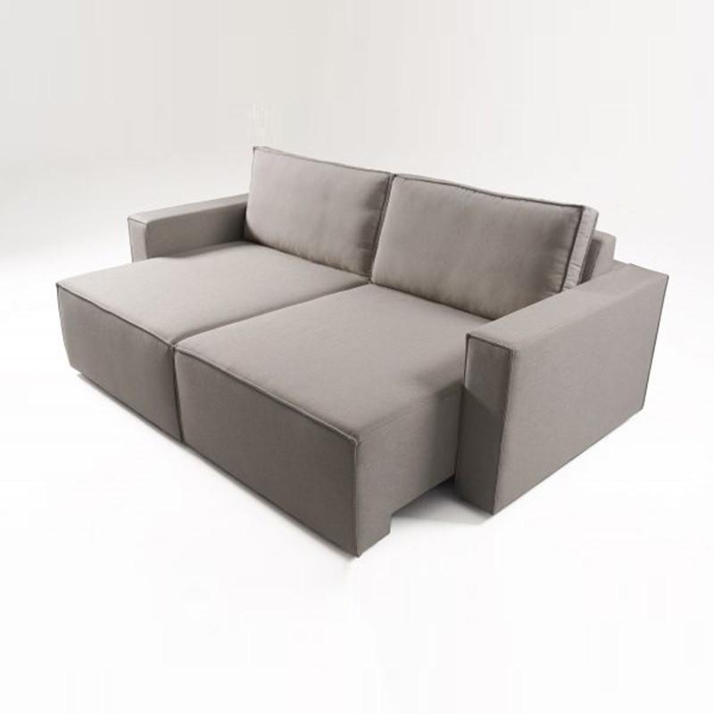 Sofá Modular Retrátil de 3 lugares Ubaldo