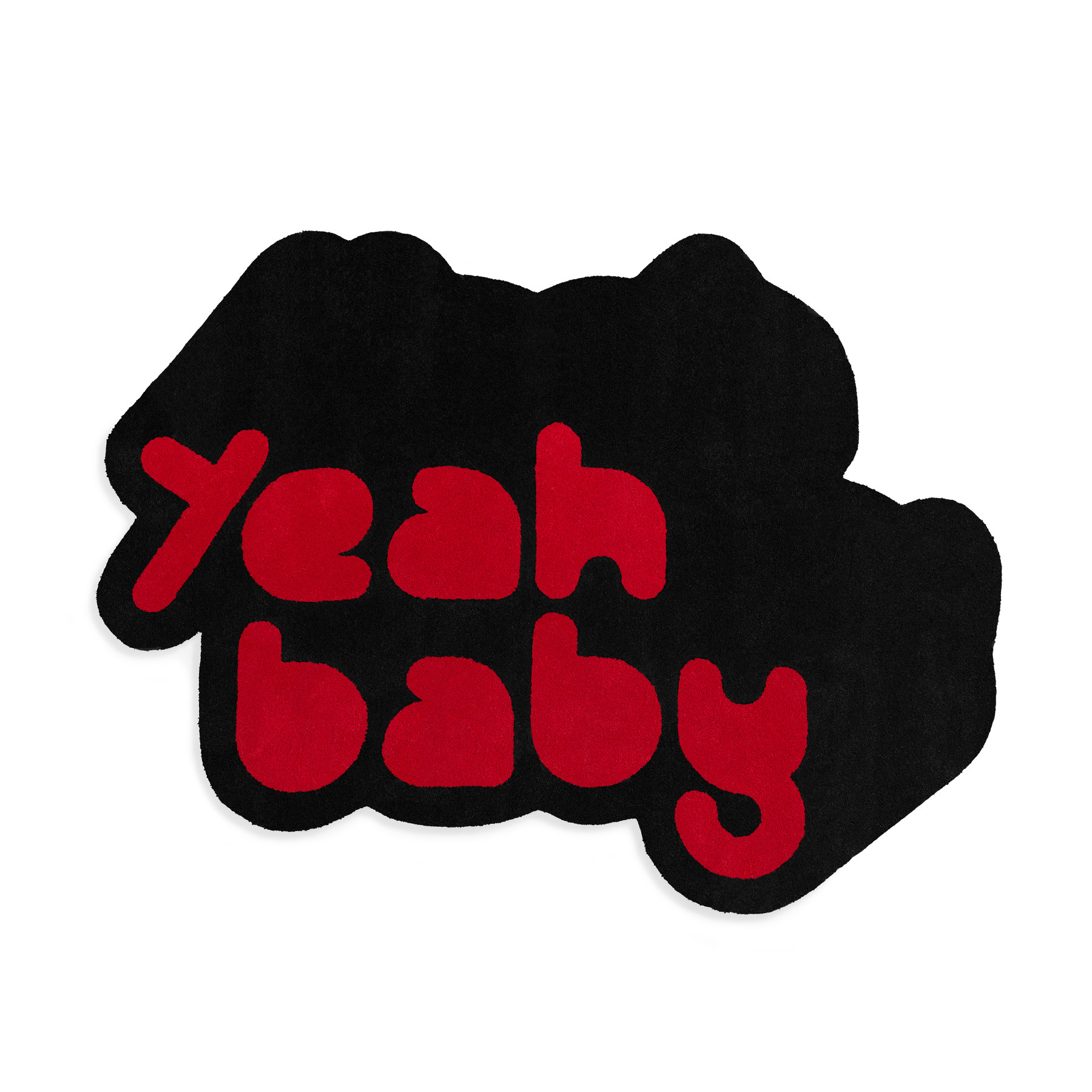 Tapete em Nylon Antron 2 Cores Yeah Baby