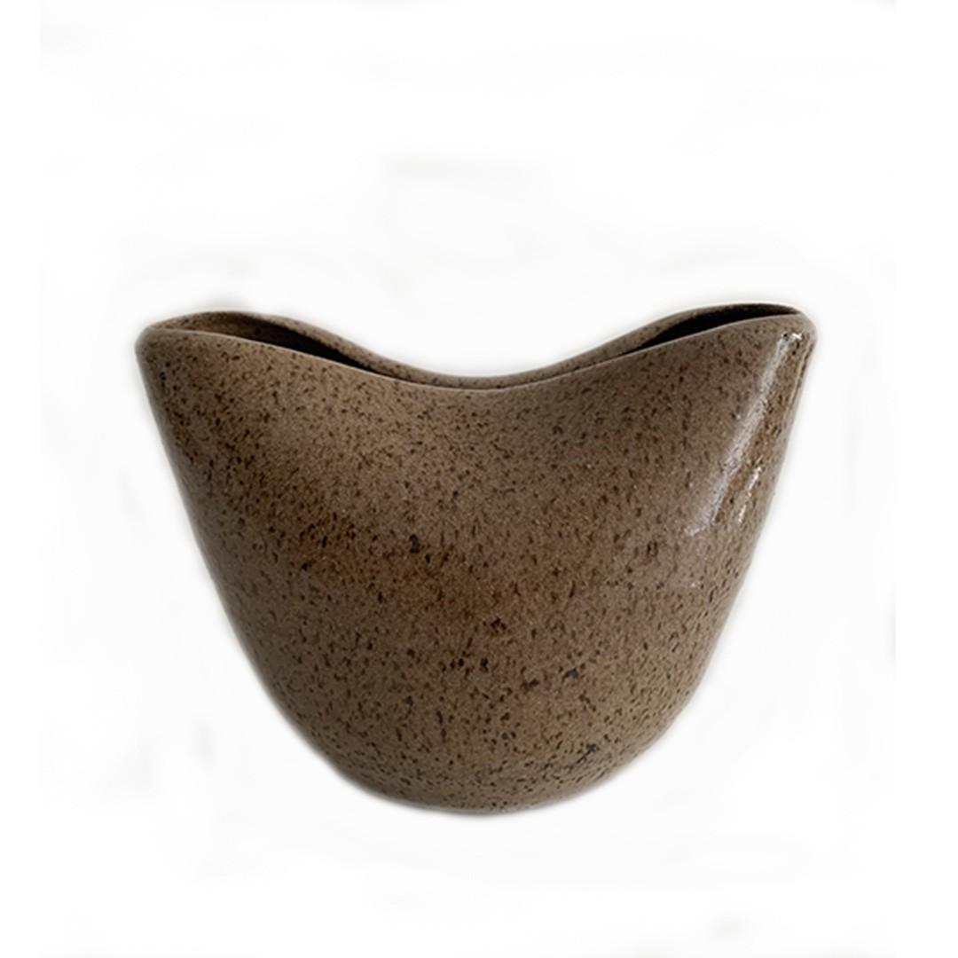 Vaso de Cerâmica Ondas