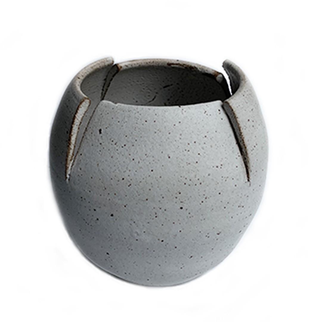 Vaso de Cerâmica Recorte