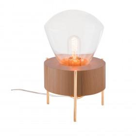 Luminária de Mesa em Madeira Luzeiro 2