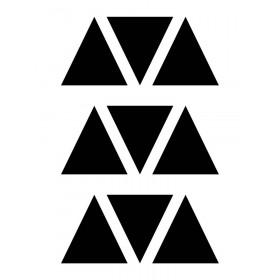 Kit de Adesivos de Parede Triângulo