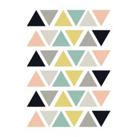 Kit de Adesivos de Parede Triângulos color