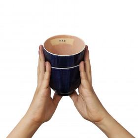 2 Mini Bowl em Cerâmica Artesanal - Paz + Amor