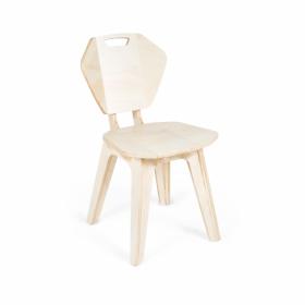 Cadeira Pétala Natural