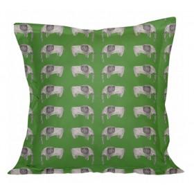 Almofadão com Capa de Algodão Elefantes