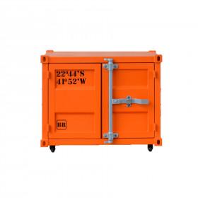 Armário Container Mini Bierbox em Aço Corten e Aço Carbono