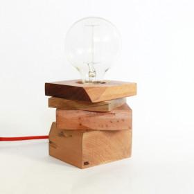 Luminária de Mesa - Retalhos