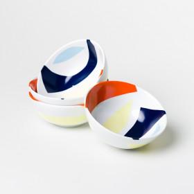 Bowl em Porcelana Pequeno - Coleção Cores De Tarsila
