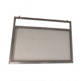 Cabeceira em Ferro Estilo Industrial (Casal)