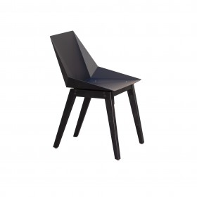 Cadeira em Aço e Madeira Kepler Mk2 Valkyrie