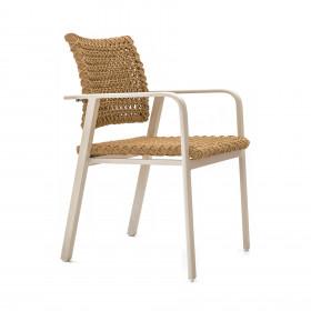 Cadeira em Alumínio Tubular Santorini