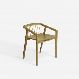 Cadeira em Madeira Maciça Catuaba com Encaixes Canelinha