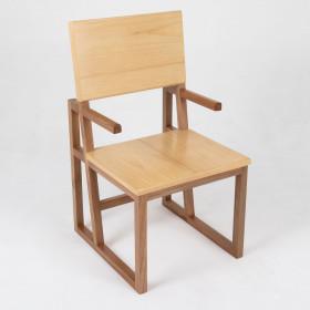 Cadeira em Madeira Maciça Vazado