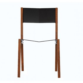 Cadeira em Freijó e Alumínio Gaivota