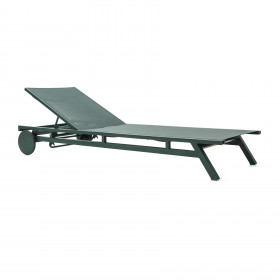 Chaise em Alumínio Tubular e Tela Sling Santorini