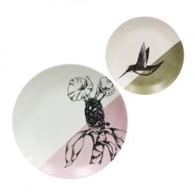 Duo de Porcelanas