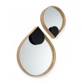 Espelho em Madeira Orvalho