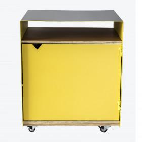 Gabinete em Chapa de Aço Modelo Biboca 1 | Porta