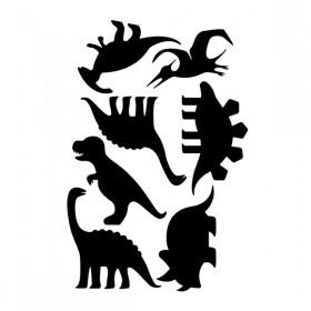 Kit de Adesivos de Parede Dinossauros