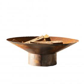 Lareira em Aço Carbono Oxidade Tiradentes