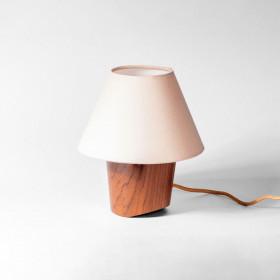 Luminária Abajur em Madeira Lume