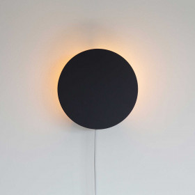Luminária de Parede Arandela Orb Preta