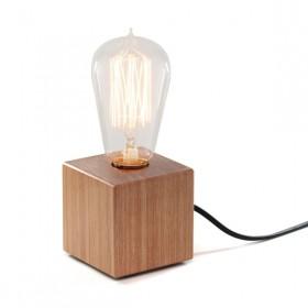 Luminária de Mesa em Madeira Mini Tokinho