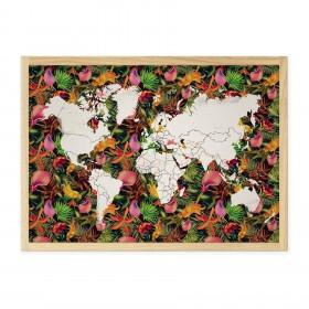 Mapa Decô Floral