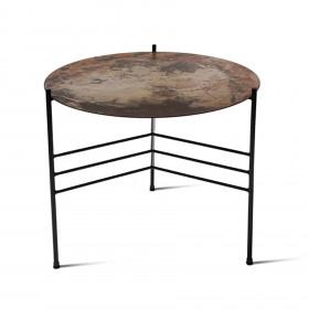 Mesa em Aço com Chapa Oxidada Tríade