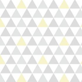Papel de Parede Adesivo Triangulinho Amarelo