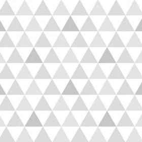 Papel de Parede Adesivo Triangulinho Cinza