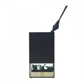 Porta Guarda Chuvas Hertz com Vaso de Concreto
