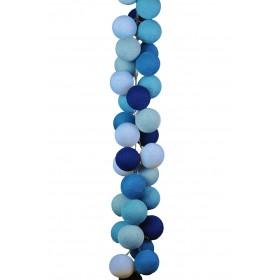 Set de luminária - Azul Quarto de Bebê - Cordão de Luz