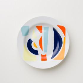 Prato em Porcelana - Coleção Cores De Tarsila | Estampa 2