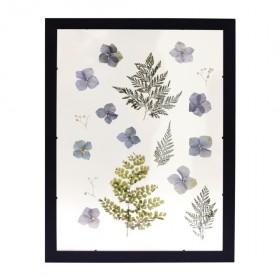 Quadro de flores secas
