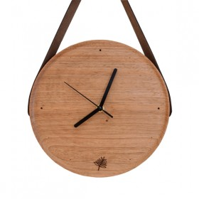 Relógio Pêndulo de Madeira