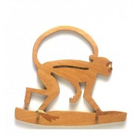 Mini Cabideiro Macaco