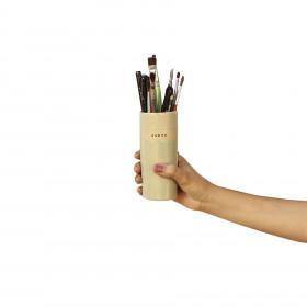 Vaso em Cerâmica Porta Vida Verde P - Sorte