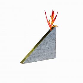 Vaso em Pedra Sabão Triângulo