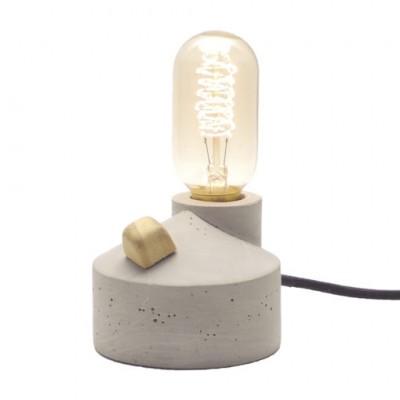 Luminária Zolt Cimento