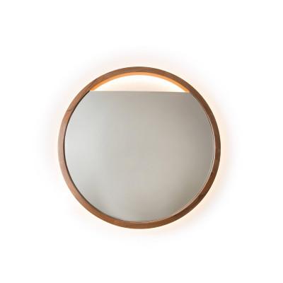 Espelho em Madeira de Cedro Eclipse