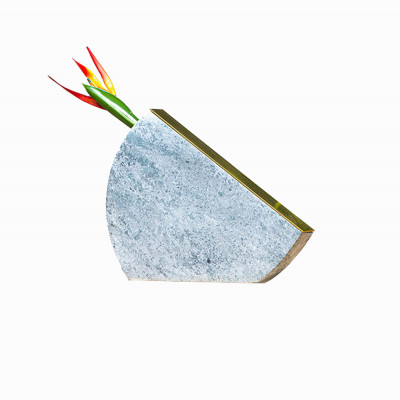 Vaso em Pedra Sabão Curva