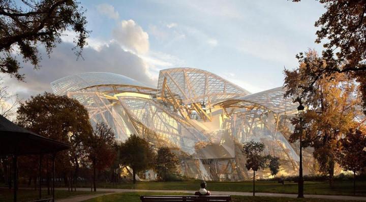 Em construção: Museu de Frank Gehry