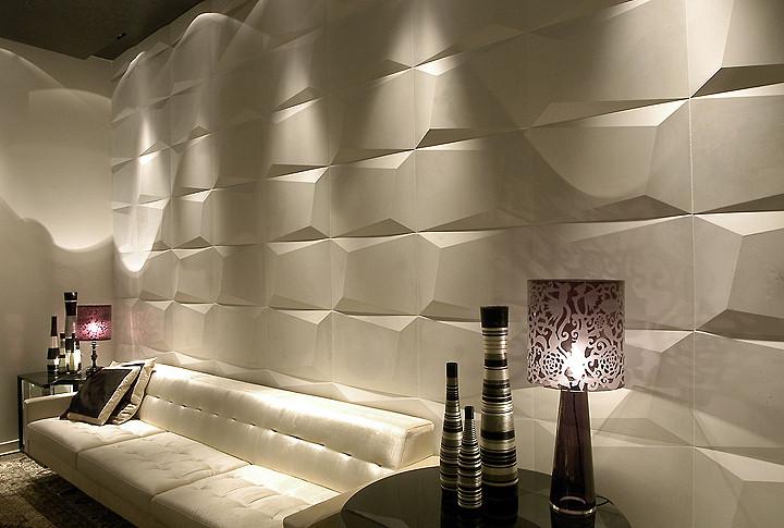 Revestimento em relevo 9 ideias para o seu projeto - Paneles laminados para paredes ...