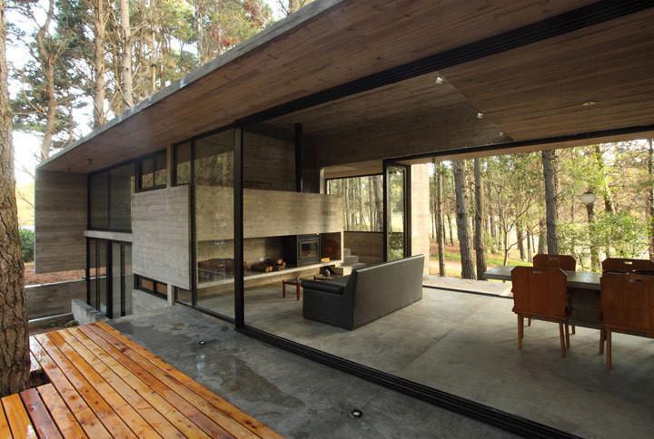 27 ideias de projetos com cimento e concreto aparente for Casas de cemento