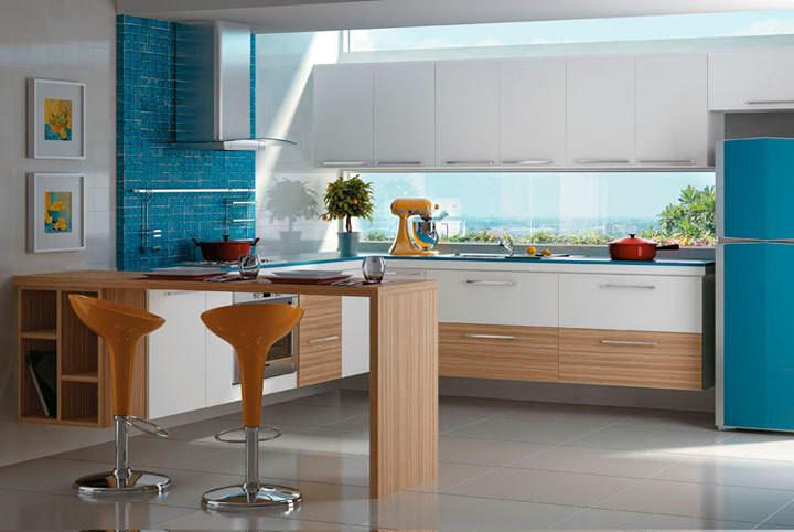 41 ideias de inspira o e materiais para bancadas na cozinha for Cocinas externas