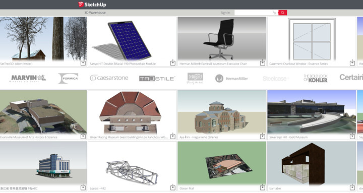 Novo 3D Warehouse - entenda as polêmicas mudanças