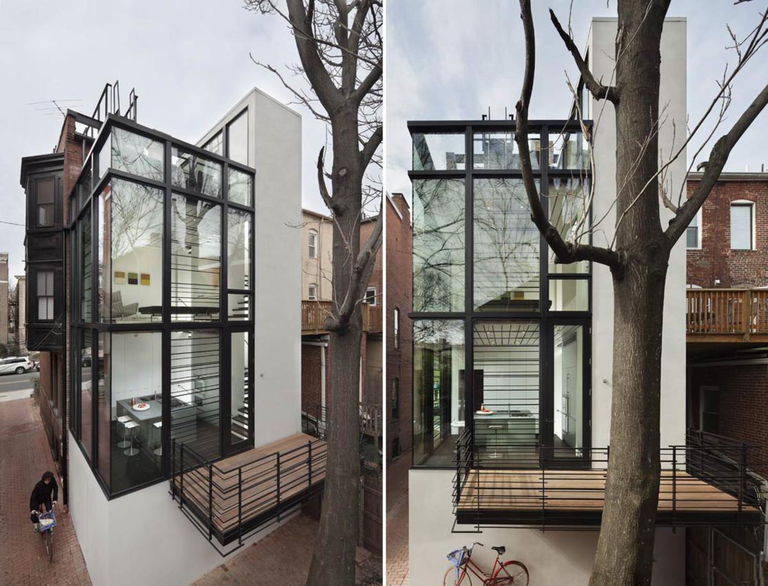 Arquitetura Com Vidro: Bar Code House